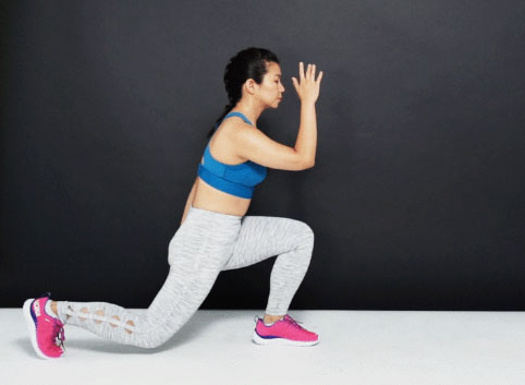 Tips 10 Workout To Tone Your Butt At Home - Explosive Lunges