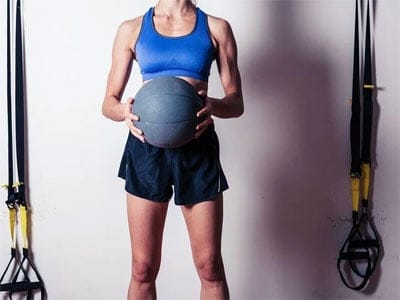 Tips 15 Exercises to Burn More Belly Fat Side-to-Side Medicine Ball Slams
